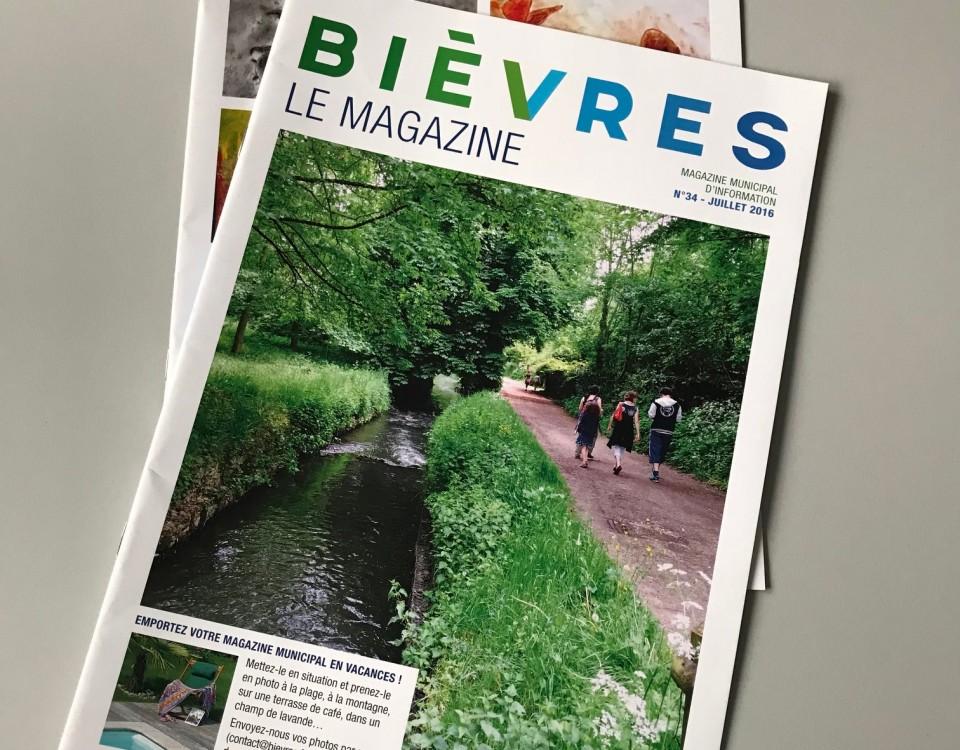 magazine de la ville Bièvres