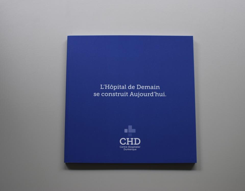 Book réalisé pour le Centre Hospitalier de Dunkerque