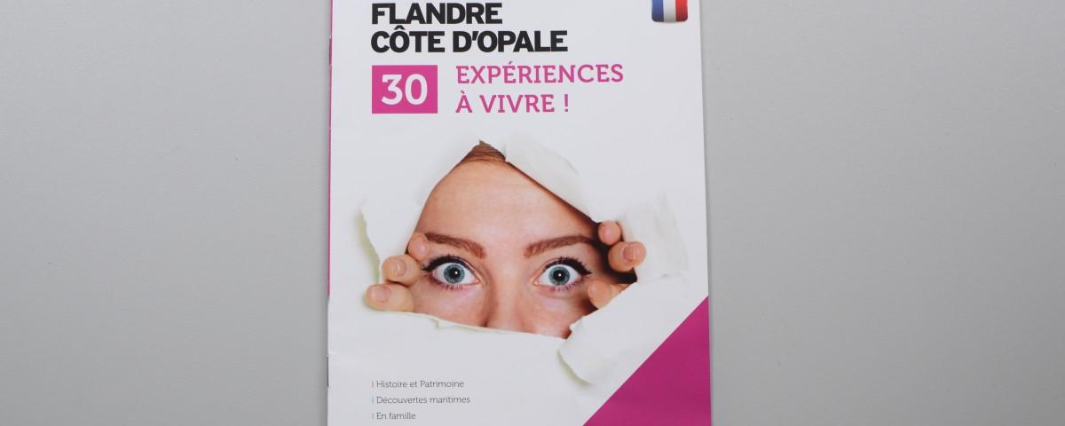 """Brochure """"30 expériences à vivre"""" sur le territoire"""